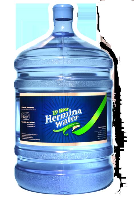 hermina water tisztított ballonos víz
